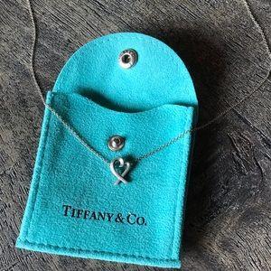 Tiffany & Co. loving heart necklace